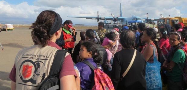 Humanitární pomoc při katastrofách