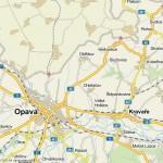 strahovice map