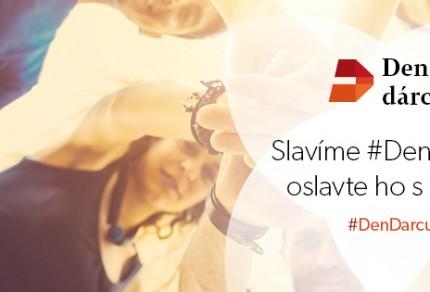 Banner- Slavíme Den dárců