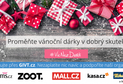 Vánoce s GIVTem - grafika pro Facebook