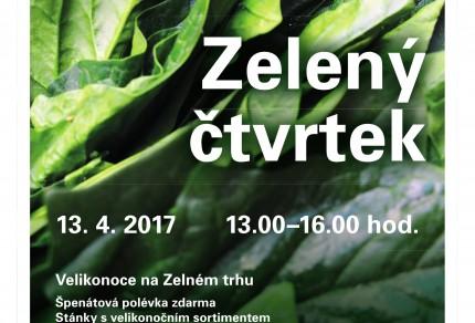 Akce Zeleny ctvrtek na Zelnaku v Brne
