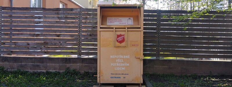 Materiální dary - Opava
